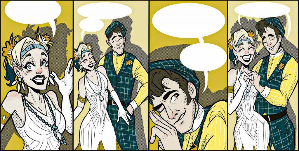 Svadobný komiks - Originálný svadobný dar
